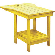 "Generations Tete A Tete Table, Yellow, 18""L x 14""W x 21""H"