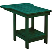 "Generations Tete A Tete Table, Green, 18""L x 14""W x 21""H"