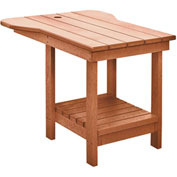 "Generations Tete A Tete Table, Cedar, 18""L x 14""W x 21""H"