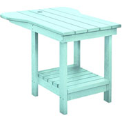 "Generations Tete A Tete Table, Aqua, 18""L x 14""W x 21""H"