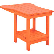"Generations Tete A Tete Table, Orange, 18""L x 14""W x 21""H"