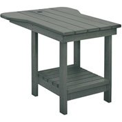 "Generations Tete A Tete Table, Slate, 18""L x 14""W x 21""H"