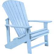 "Generations Adirondack Chair, Sky Blue, 32""L x 31""W x 40-1/2""H"