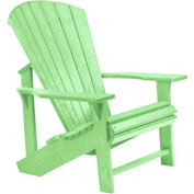 "Generations Adirondack Chair, Lime Green, 32""L x 31""W x 40-1/2""H"