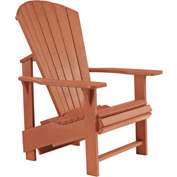 "Generations Upright Adirondack Chair, Cedar, 27""L x 31""W x 44""H"