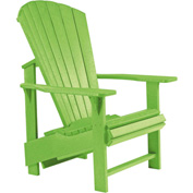 "Generations Upright Adirondack Chair, Kiwi Green, 27""L x 31""W x 44""H"