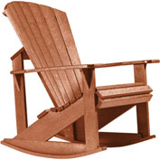 "Generations Adirondack Rocking Chair, Cedar, 34""L x 24""W x 40""H"