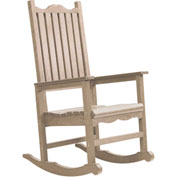 "Generations Casual Porch Rocker, Beige, 31""L x 25""W x 47""H"