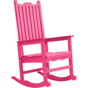 "Generations Casual Porch Rocker, Fuchsia, 31""L x 25""W x 47""H"