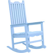 "Generations Casual Porch Rocker, Sky Blue, 31""L x 25""W x 47""H"