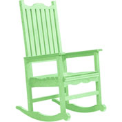 "Generations Casual Porch Rocker, Lime Green, 31""L x 25""W x 47""H"