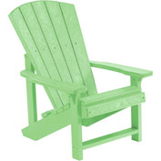 "Generations Kids Adirondack Chair, Lime Green, 24""L x 20""W x 27""H"