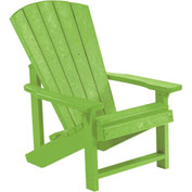 "Generations Kids Adirondack Chair, Kiwi Lime, 24""L x 20""W x 27""H"