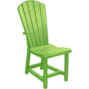 "Generations Dining Adirondack Style Side Chair, Kiwi Green, 19""L x 17""W x 40""H"