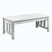 Stratford Outdoor Coffee Table, White
