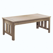 Stratford Outdoor Coffee Table, Beige