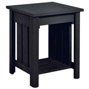 Stratford Outdoor End Table, Black