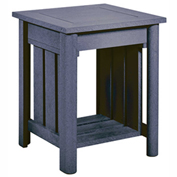 Stratford Outdoor End Table, Slate Gray