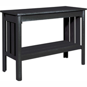 Stratford Outdoor Sofa Table, Black