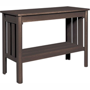Stratford Outdoor Sofa Table, Chocolate