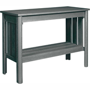 Stratford Outdoor Sofa Table, Slate Gray