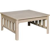Stratford Outdoor Square Cocktail Table, Beige