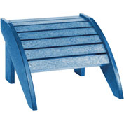 "Generations Footstool, Blue, 18""L x 17""W x 12""H"