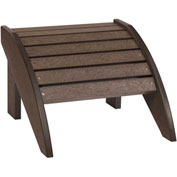 "Generations Footstool, Chocolate, 18""L x 17""W x 12""H"