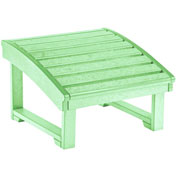 "Generations Upright Adirondack Chair Pull Out Footstool, Lime Green, 32""L x 22""W x 14""H"