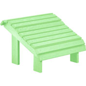 "Generations Premium Footstool, Lime Green, 18""L x 18""W x 16""H"