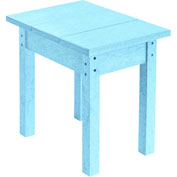 "Generations Small Side Table, Aqua, 17""L x 17""W x 17""H"