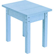 "Generations Small Side Table, Sky Blue, 17""L x 17""W x 17""H"