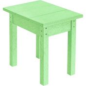 "Generations Small Side Table, Lime Green, 17""L x 17""W x 17""H"
