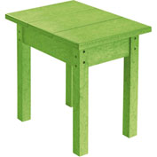 "Generations Small Side Table, Kiwi Green, 17""L x 17""W x 17""H"