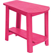 "Generations Tapered Style Accent Table, Fuchsia, 29""L x 18-1/2""W x 19""H"