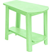 "Generations Tapered Style Accent Table, Lime Green, 29""L x 18-1/2""W x 19""H"