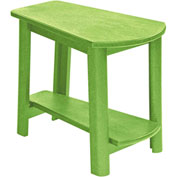 "Generations Tapered Style Accent Table, Kiwi Green, 29""L x 18-1/2""W x 19""H"