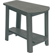 "Generations Tapered Style Accent Table, Slate, 29""L x 18-1/2""W x 19""H"