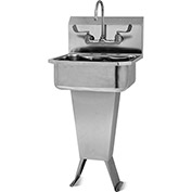 SANI-LAV 501FL Floor Mount Sink With Faucet