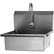 SANI-LAV 504B Wall Mount Sink With Battery Powered Sensor