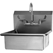 SANI-LAV 504F Wall Mount Sink With Faucet