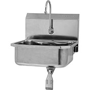 SANI-LAV 5051 Wall Mount Sink With Single Knee Pedal Valve