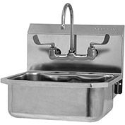 SANI-LAV 505FL Wall Mount Sink With Faucet