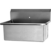 """SANI-LAV 5310 Wall Mount Scrub Sink With One 0.875"""" Hole Only"""