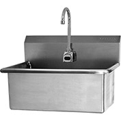 SANI-LAV 531B Wall Mount Scrub Sink With Battery Powered Sensor