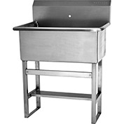 """SANI-LAV 531F0 Floor Mount Scrub Sink With One 0.875"""" Hole Only"""