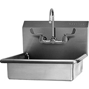 SANI-LAV 5A4F Wall Mount Sink With Faucet