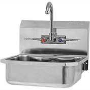 SANI-LAV 605FL Wall Mount Sinks With Faucet NSF/ANSI 372