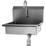 SANI-LAV 6081 Wall Mount Sink With Single Knee Pedal Valve