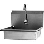 SANI-LAV 608B Wall Mount Sink With Battery Powered Sensor